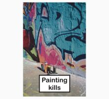 Painting kills One Piece - Short Sleeve