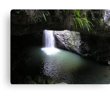 Natural Arch Numinbah Valley Waterfall #2 Canvas Print