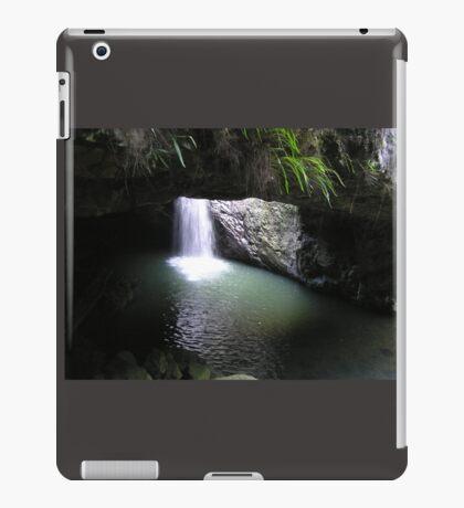 Natural Arch Numinbah Valley Waterfall #2 iPad Case/Skin