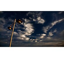 The Sky Above Photographic Print