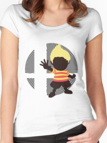 Lucas (Smash 4 Render) - Sunset Shores Women's Fitted Scoop T-Shirt