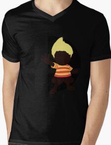 Lucas (Smash 4 Render) - Sunset Shores Mens V-Neck T-Shirt