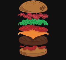 Hamburger Friday Stacked Unisex T-Shirt