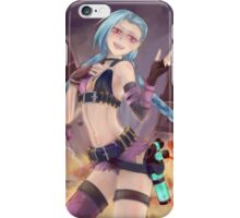 Jinx fan art iPhone Case/Skin