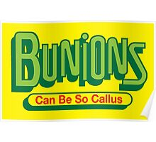 Bunions Poster