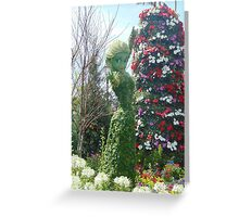 Elsa Topiary Flower and Garden Festival- Epcot Greeting Card