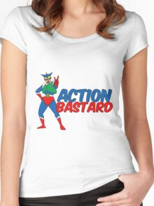 Action Bastard Women's Fitted Scoop T-Shirt
