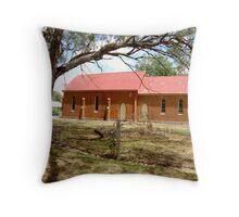 St Andrews Presbyterian Church, Gooloogong, NSW. Throw Pillow