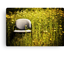 out of office Canvas Print