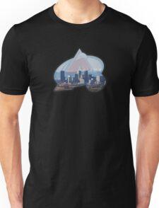 Colorado Avalanche and Denver Skyline Unisex T-Shirt