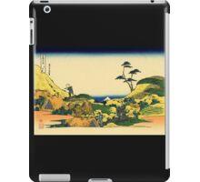 'Shimomeguro' by Katsushika Hokusai (Reproduction) iPad Case/Skin