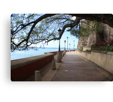 Old San Juan Paseo Canvas Print
