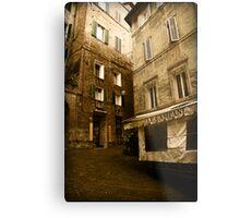 Siena streets Metal Print