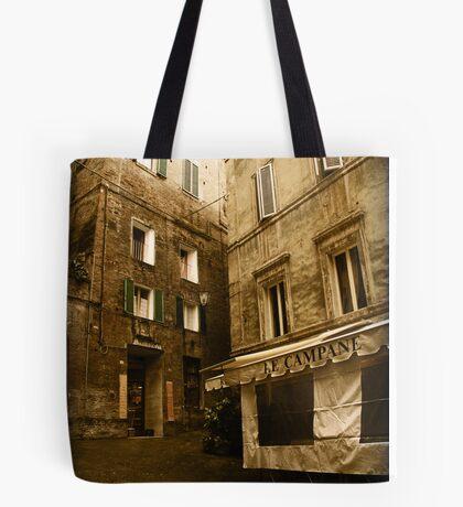 Siena streets Tote Bag