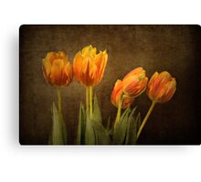 Tulips Together Canvas Print