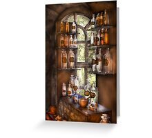 Various Potions  Greeting Card