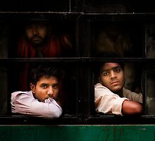 Indian Bus Trip (Dehli, India) by James  Archibald