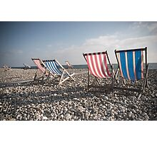 Beer Beach Devon Photographic Print