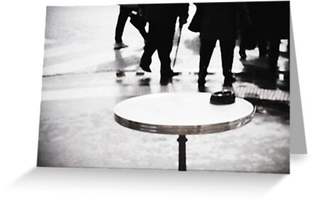 Paris Table by dunxs
