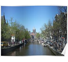 beauty of amsterdam Poster