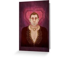 DA:I Keep - Varric Greeting Card