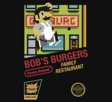 Super Bob's Burgers by Bryant Almonte Designs
