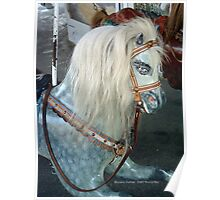 Watch Hill Carousel - Grey Spotted Horse Poster
