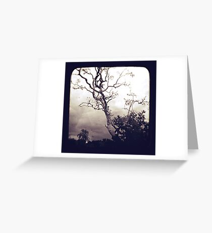A million miles away Greeting Card