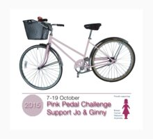 Pink Pedal Challenge 2015 - Support Jo and Ginny Kids Clothes