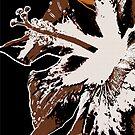 Hibiscus Radical by Pamela Hubbard
