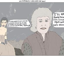Les Misérables + When Harry Met Sally by altanimus