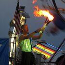 juggling fire by LoreLeft27