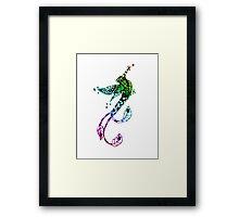 Rainbow Bird of Paradise Framed Print