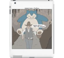 Indiana Jones + Pokémon iPad Case/Skin
