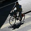 Cyclist by David Clarke