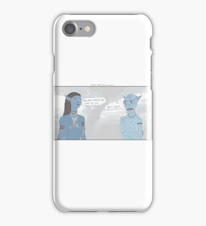 Avatar + Arrested Development iPhone Case/Skin