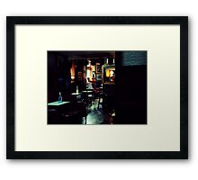 The Oval Framed Print