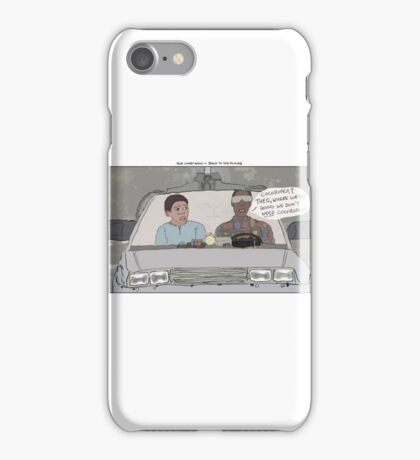 The Cosby Show + Back to the Future iPhone Case/Skin