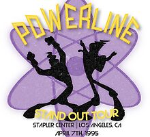 Vintage Powerline Concert Logo - A Goofy Movie by alainabrogan