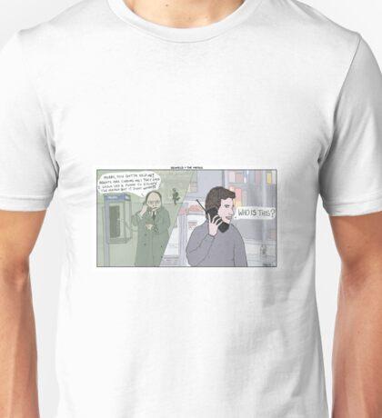 Seinfeld + The Matrix Unisex T-Shirt