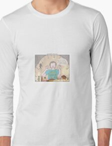 Pans Labyrinth + What About Bob Long Sleeve T-Shirt
