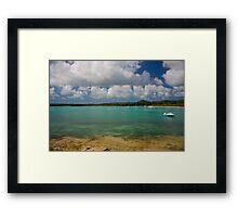 Isle of Pines D Framed Print