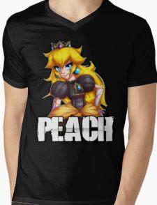 Punk Peach Mens V-Neck T-Shirt