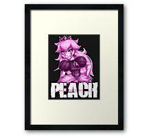 Punk *PINK* Peach Framed Print