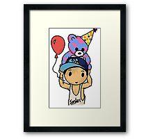 Calum's Birthday Framed Print