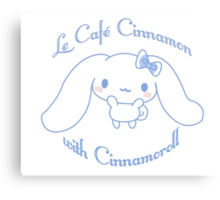 Café Cinnamon Canvas Print