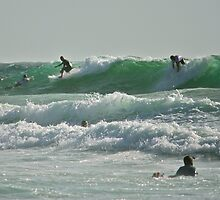 Surfers by Benjamin Smith