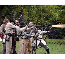 Gunfire Photographic Print