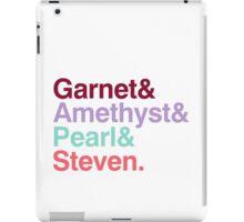 The Crystal Gems - Gem Colors iPad Case/Skin