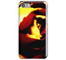 Fire Rose iPhone Case/Skin